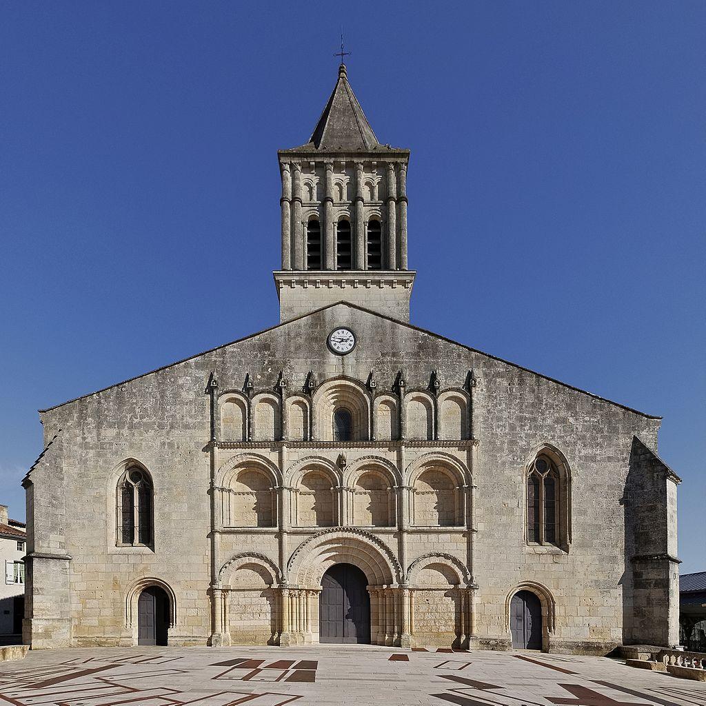 église St. Gervais de Jonzac